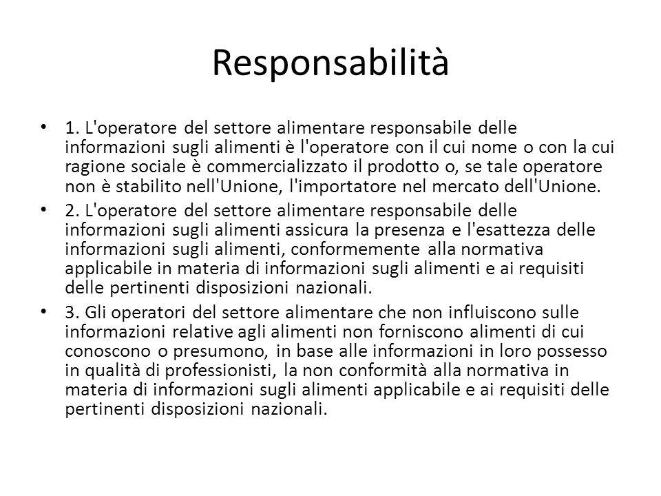 Responsabilità 1.