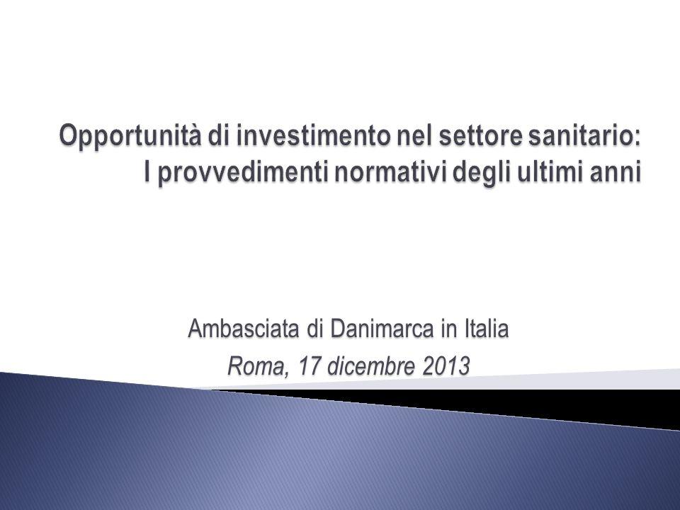 Ambasciata di Danimarca in Italia Roma, 17 dicembre 2013