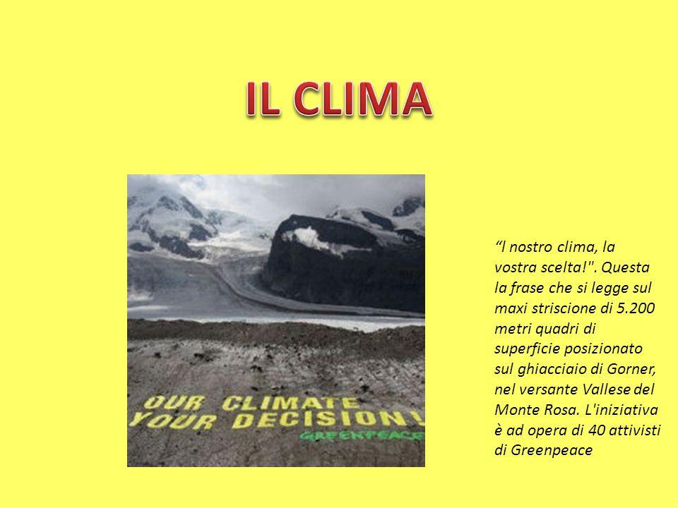 l nostro clima, la vostra scelta!