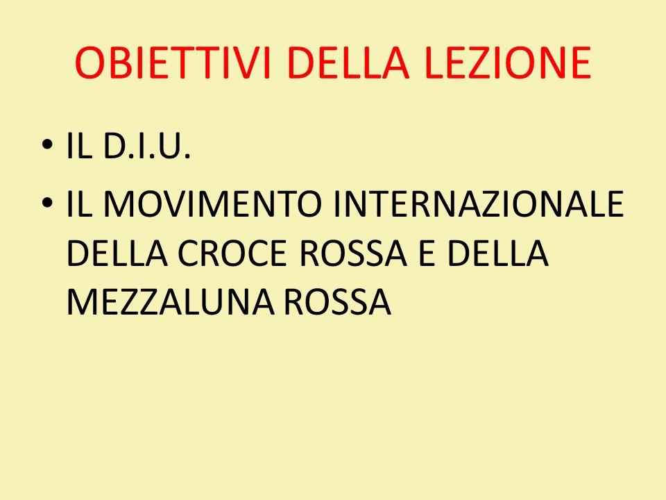 Il Movimento Internazionale della Croce Rossa Conferenza Internazionale della CR (Parlamento) Comitato Internazionale della CR (I.C.R.C.) Fondatore.
