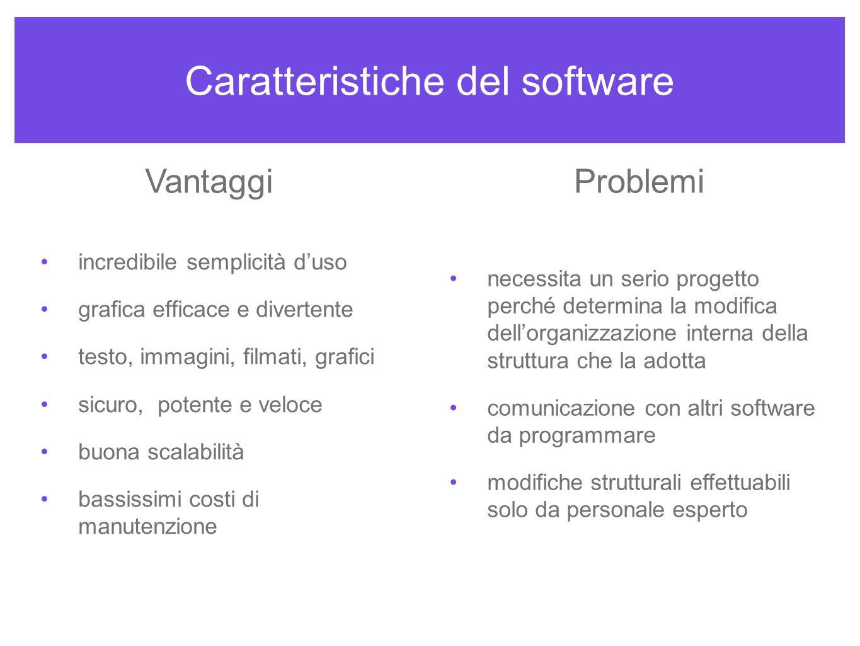 Organizzazione generale 1 la suddivisione del programma è semplice e nello stesso tempo tradizionale.