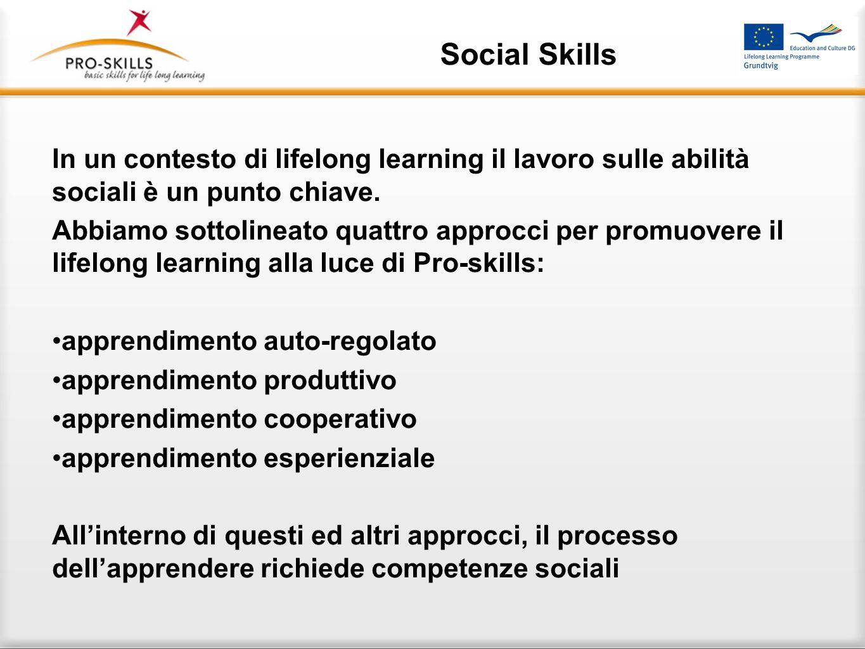Social Skills Puoi scoprire molto di più su una persona in unora di gioco che in un anno di conversazione. Platone