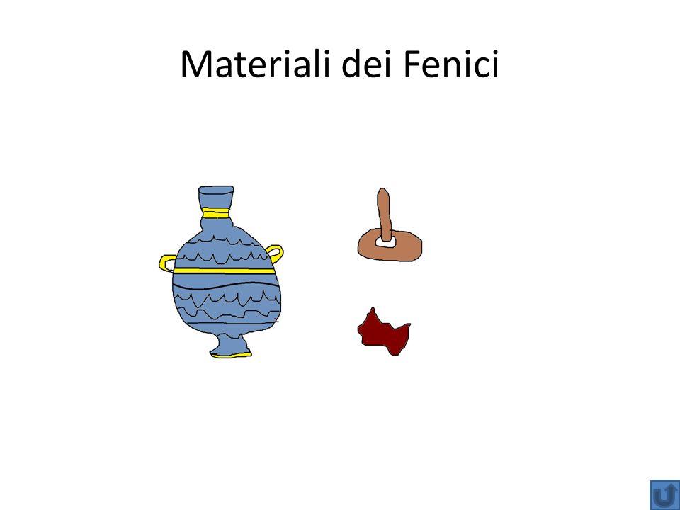 Materiali dei Fenici