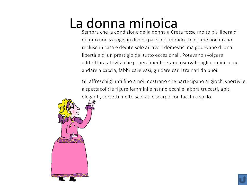 La donna minoica
