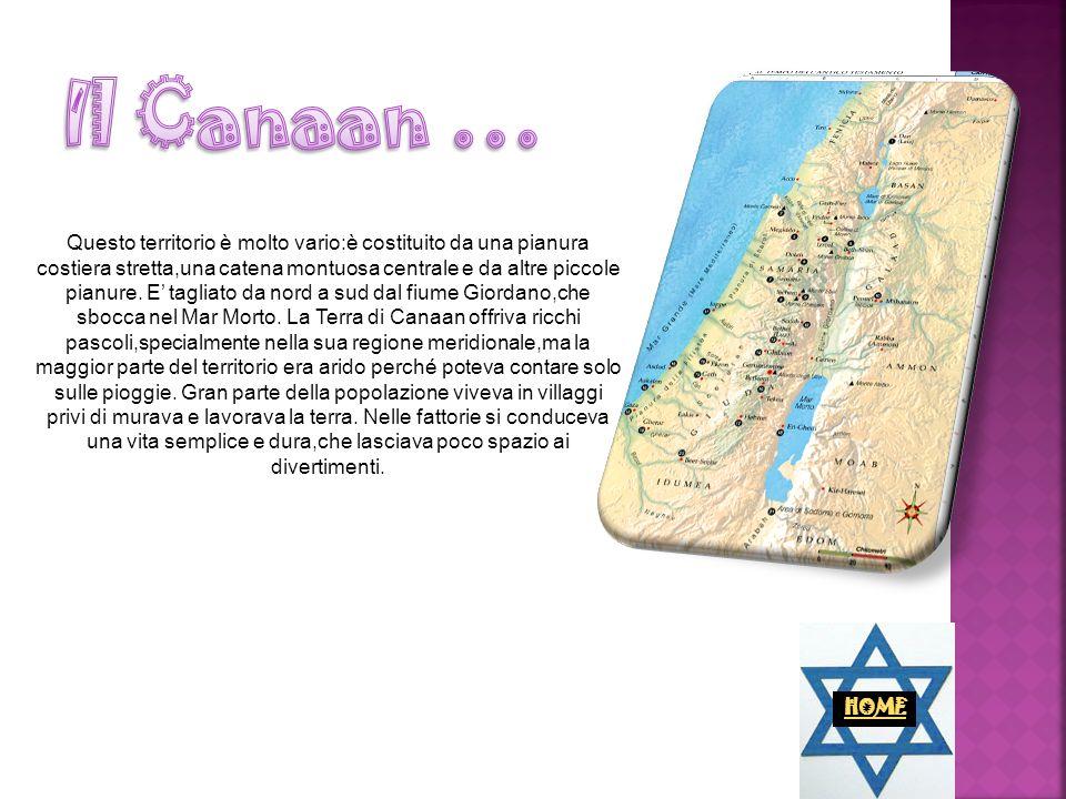 Intorno al 1850 a.C., gli Ebrei intrapresero un lungo viaggio,dalla città di Ur, in Mesopotamia (terra tra i due fiumi), alla Palestina, guidati dal patriarca Abramo.