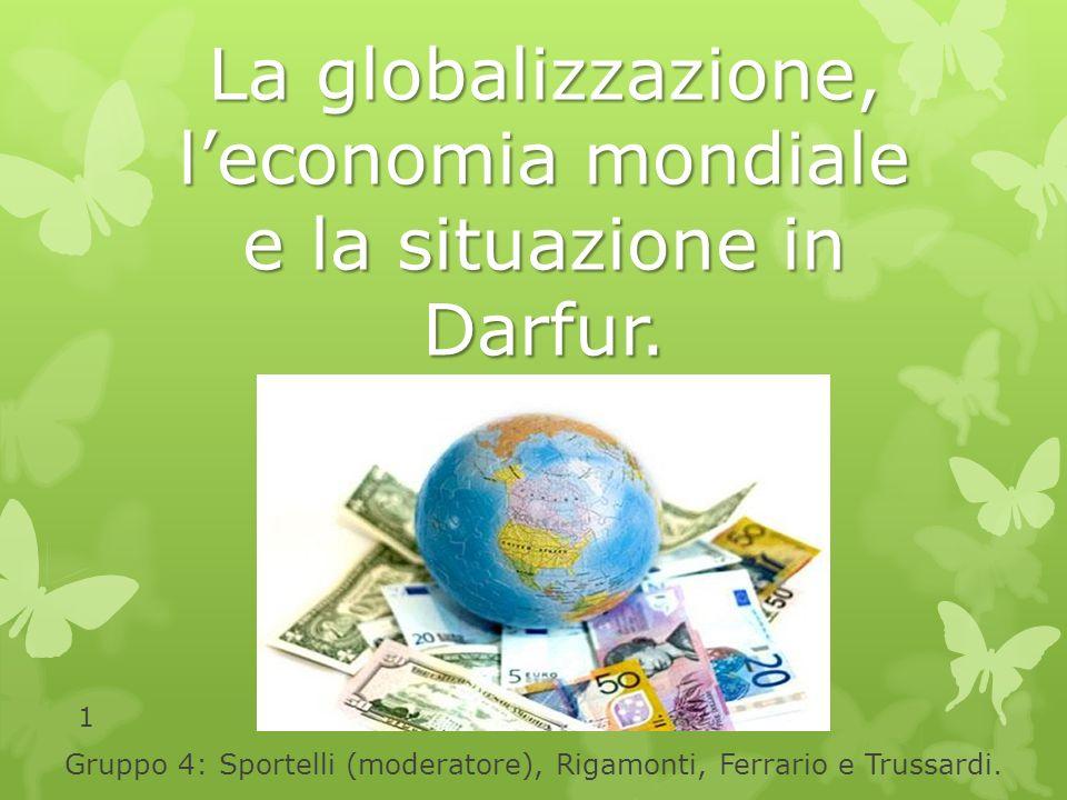 Non esiste solo una globalizzazione: ce ne sono molte, per esempio quella dellinformazione, della droga, delle epidemie, dei problemi ambientali e, ovviamente, quella delle finanze Bouthros Ghali, ex segretario dellONU 12