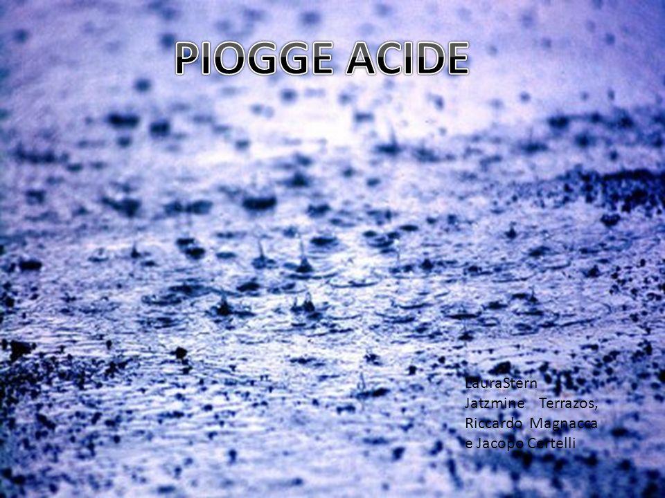 Con il termine piogge acide si intende generalmente il processo di ricaduta dallatmosfera di particelle, gas e precipitazioni acide.