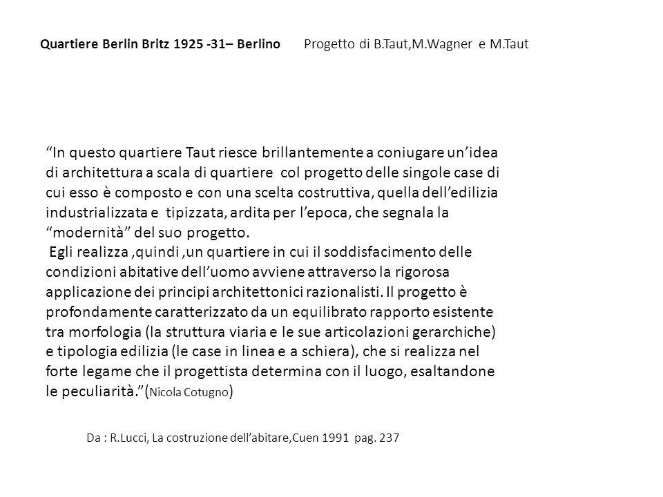 da :A.Rossi, Larchitettura della città, clup 1978