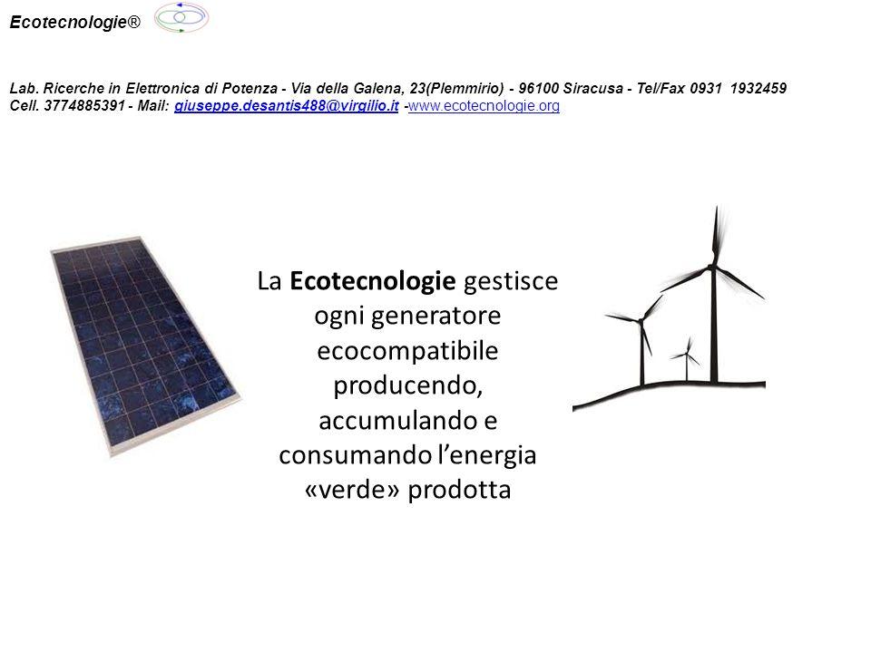 Ecotecnologie® Lab.