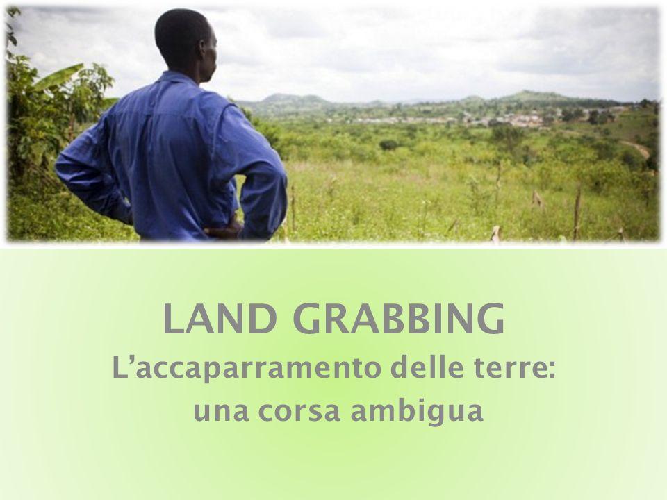 LAND GRABBING Laccaparramento delle terre: una corsa ambigua