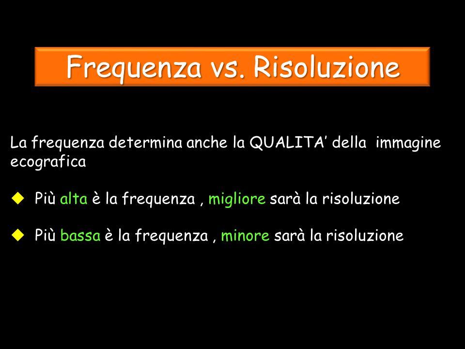 Frequenza vs.