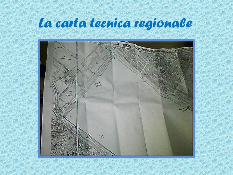 La carta tecnica regionale
