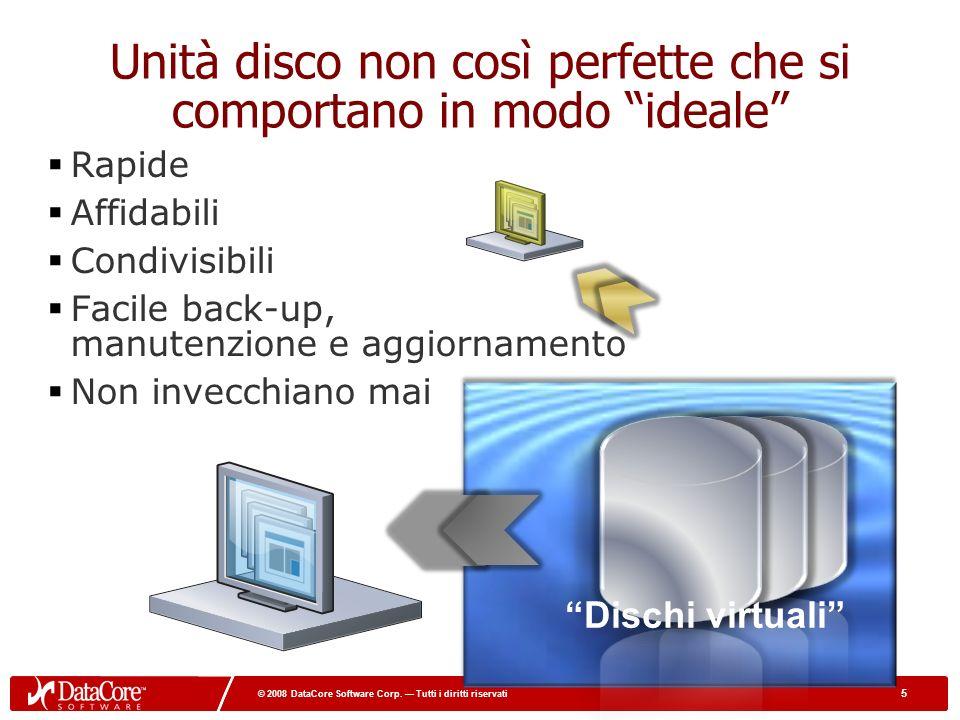 16 © 2008 DataCore Software Corp.Tutti i diritti riservati 16 © 2008 DataCore Software Corp.
