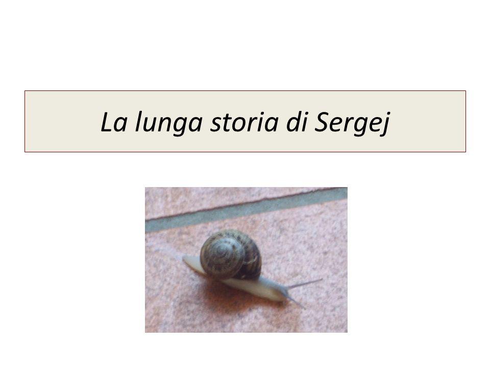 La lunga storia di Sergej