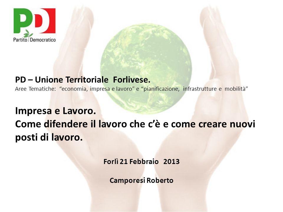 PD – Unione Territoriale Forlivese.