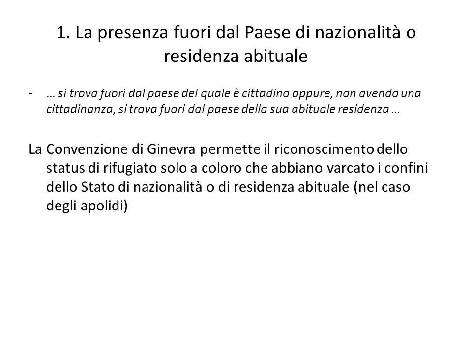 Permesso di soggiorno Status di rifugiato = permesso per ASILO - 5 anni rinnovabile (art.