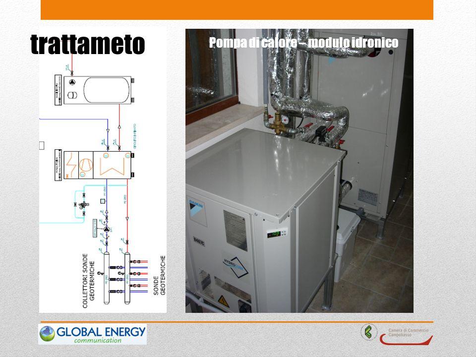 trattameto Pompa di calore – modulo idronico