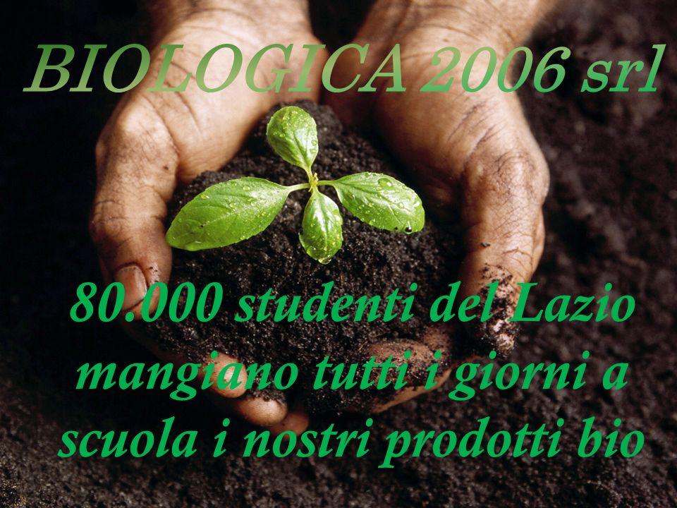80.000 studenti del Lazio mangiano tutti i giorni a scuola i nostri prodotti bio