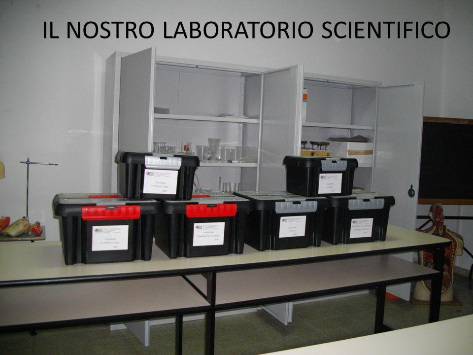 IL NOSTRO LABORATORIO SCIENTIFICO
