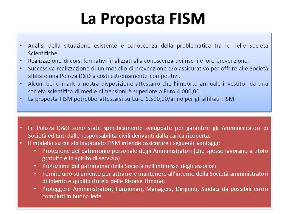 La Proposta FISM Le Polizza D&O sono state specificamente sviluppate per garantire gli Amministratori di Società ed Enti dalle responsabilità civili derivanti dalla carica ricoperta.
