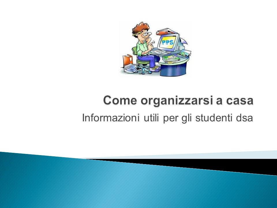 Informazioni utili per gli studenti dsa