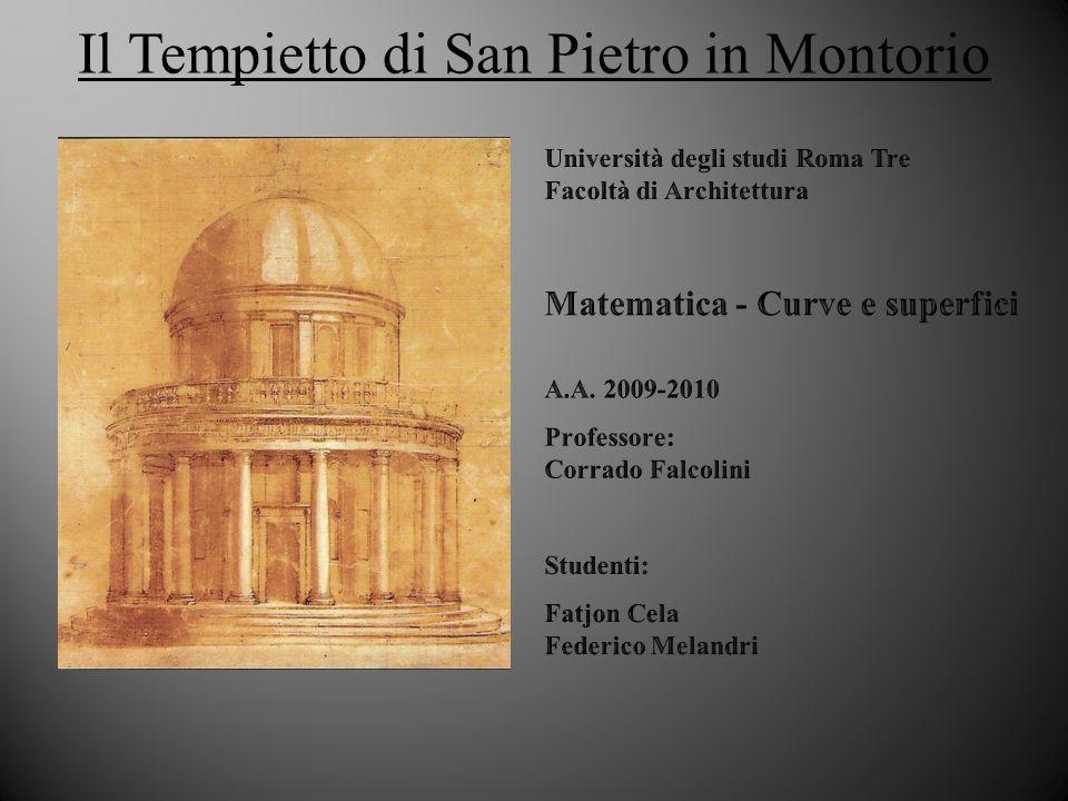 Il Tempietto di San Pietro in Montorio