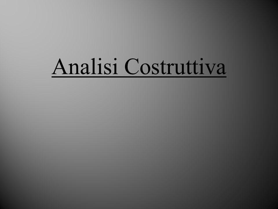 Analisi Costruttiva