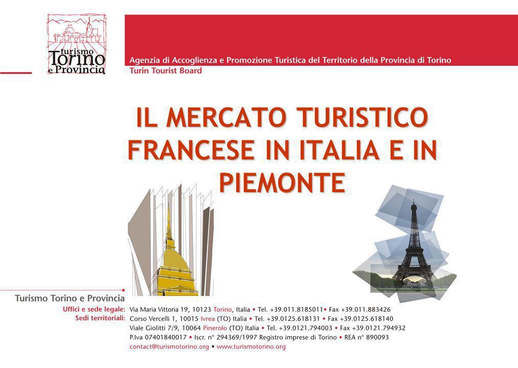 IL MERCATO TURISTICO FRANCESE IN ITALIA E IN PIEMONTE