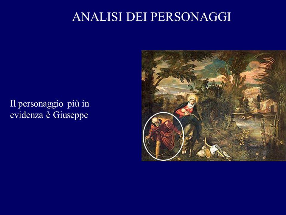 Il personaggio più in evidenza è Giuseppe ANALISI DEI PERSONAGGI