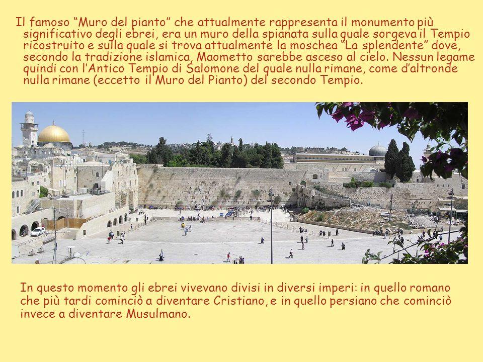 I futuri sovrani cercheranno di imporre la cultura ellenistica e Antioco IV, dichiarando fuori legge la religione degli ebrei, fece collocare nel Temp