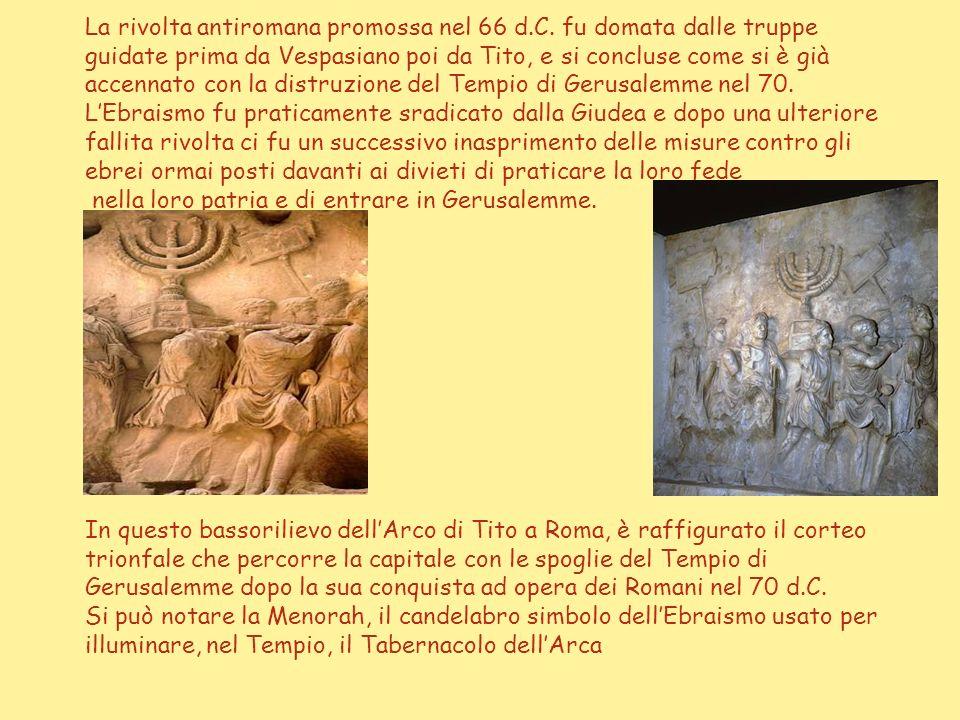 Il famoso Muro del pianto che attualmente rappresenta il monumento più significativo degli ebrei, era un muro della spianata sulla quale sorgeva il Te