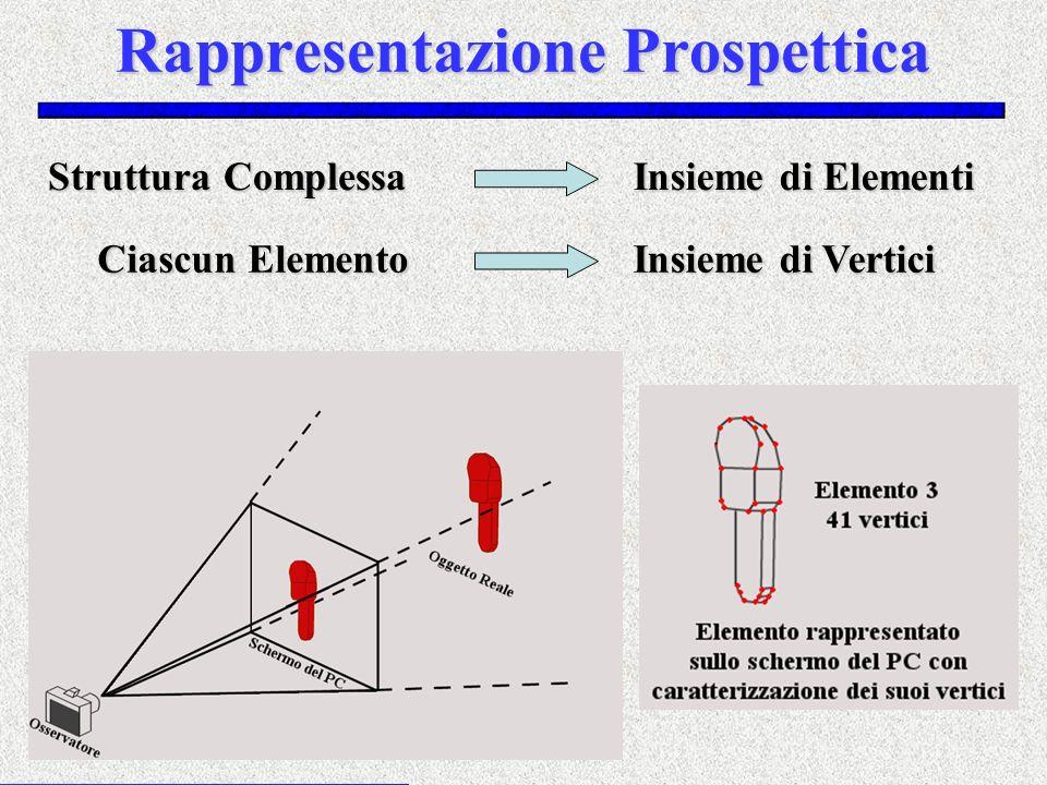 Rappresentazione Prospettica Struttura Complessa Ciascun Elemento Insieme di Elementi Insieme di Vertici