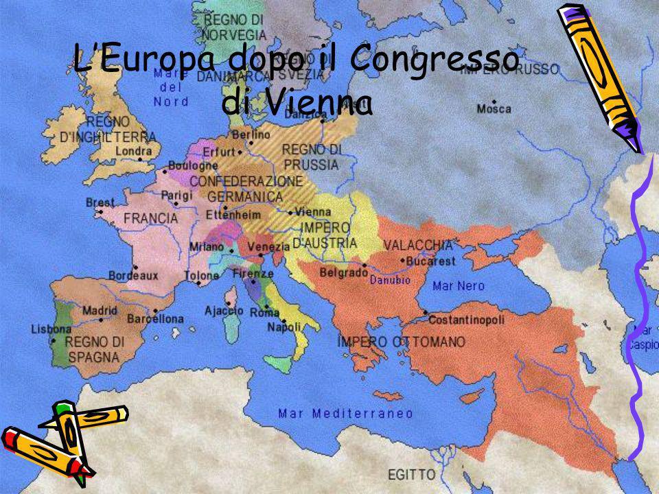 LEuropa dopo il Congresso di Vienna