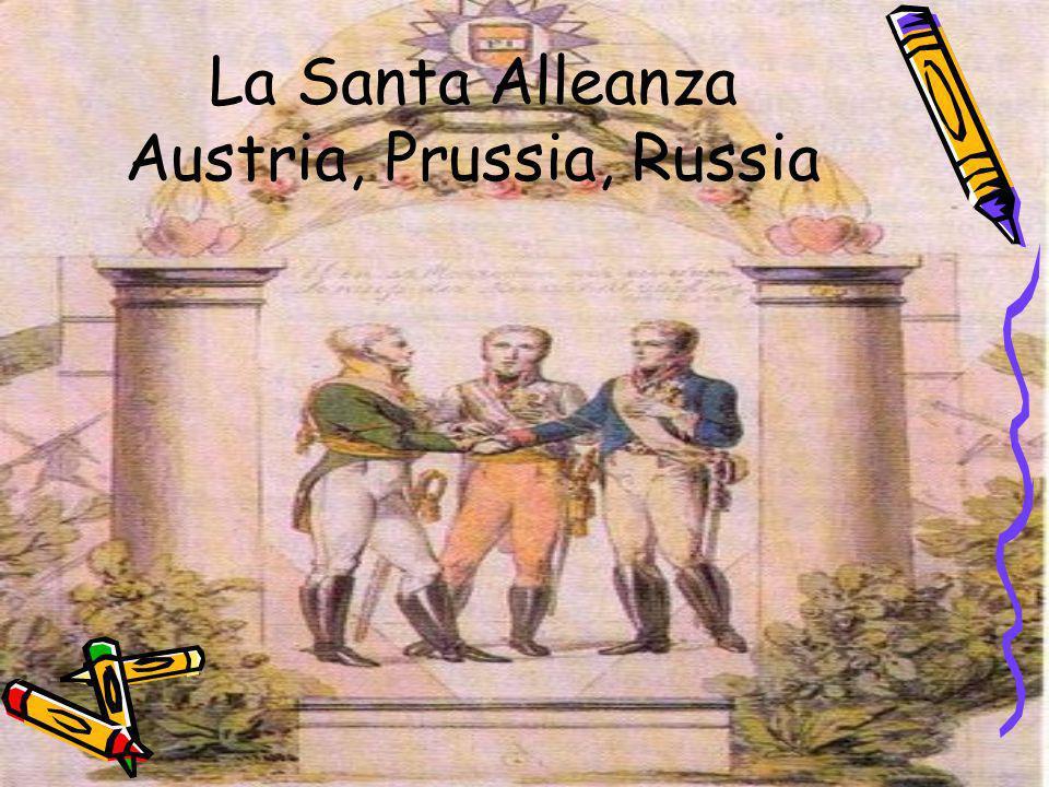 Il cammino verso la libertà I popoli europei erano sottomessi alle grandi monarchia dopo la Restaurazione.