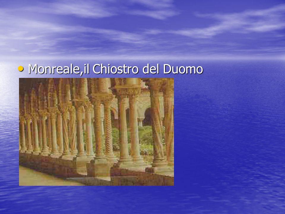Monreale,il Chiostro del Duomo Monreale,il Chiostro del Duomo