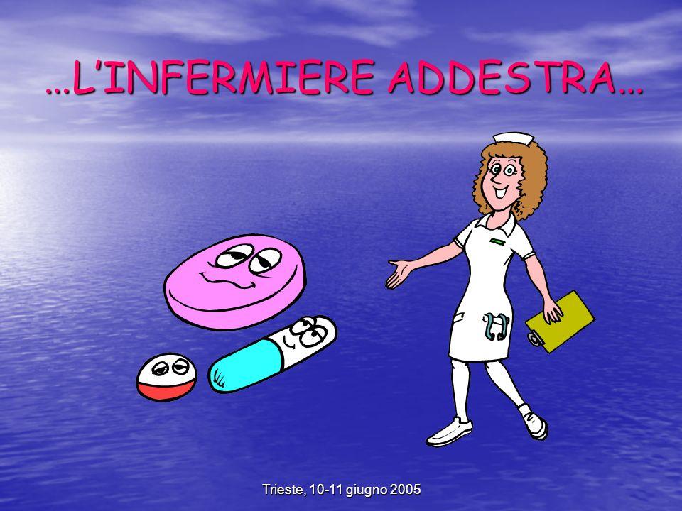 Trieste, 10-11 giugno 2005 …LINFERMIERE ADDESTRA…