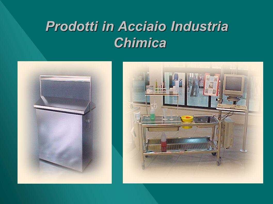 Prodotti in Acciaio Industria Chimica