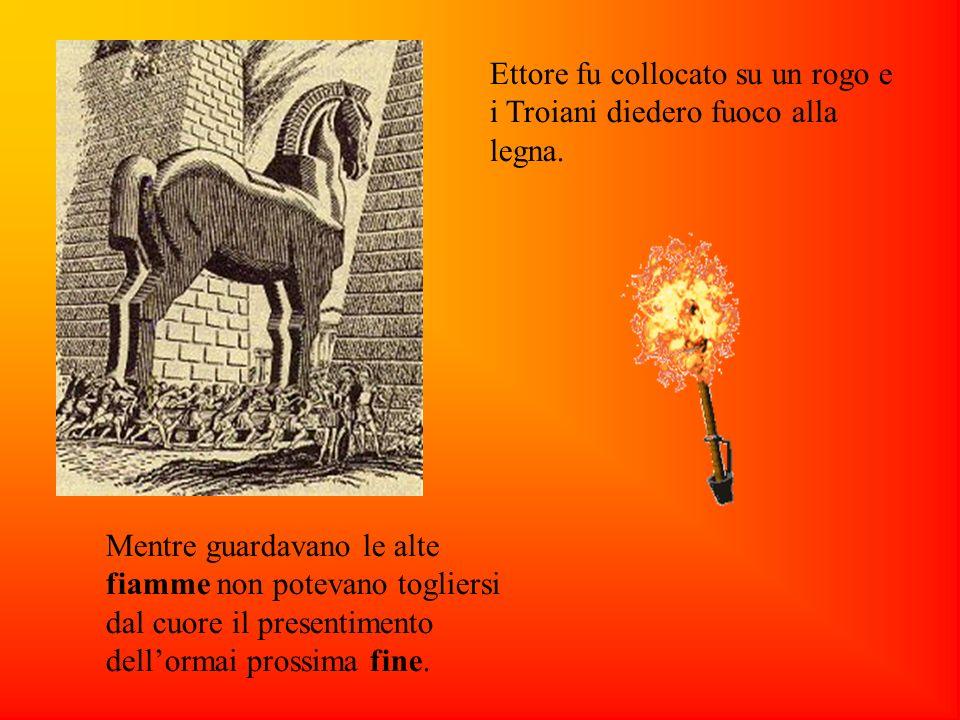 Mentre guardavano le alte fiamme non potevano togliersi dal cuore il presentimento dellormai prossima fine.