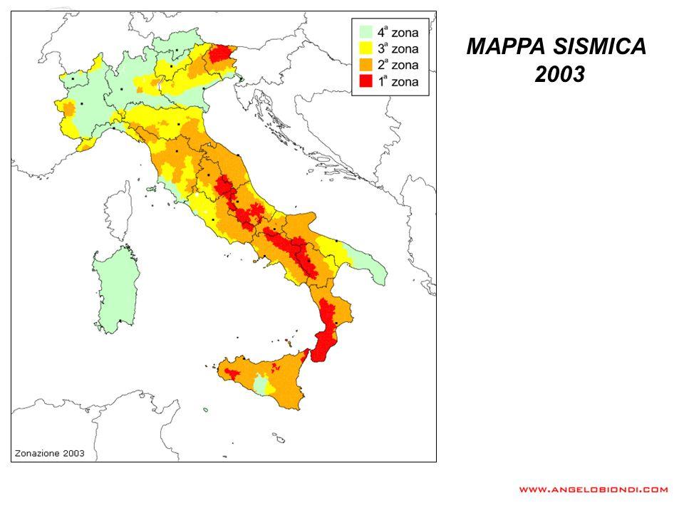 MAPPE SISMICHE Mappa Sismica 2008 – Reticolo di riferimento