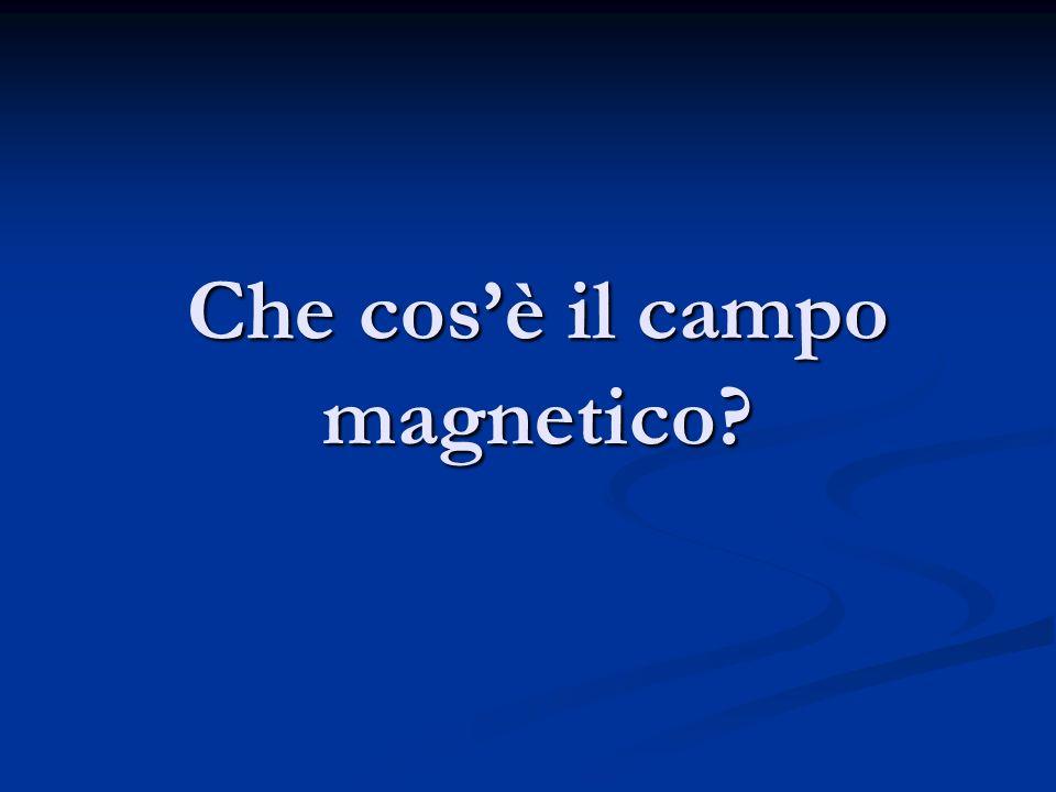 Che cosè il campo magnetico?