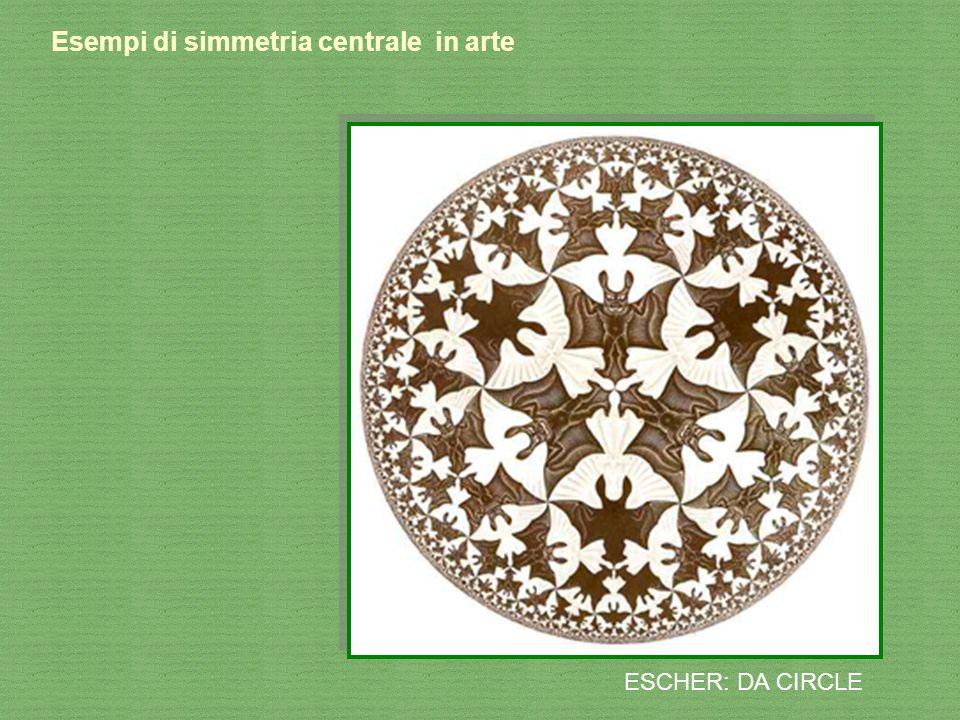 Esempi di simmetria centrale in arte ESCHER: DA CIRCLE