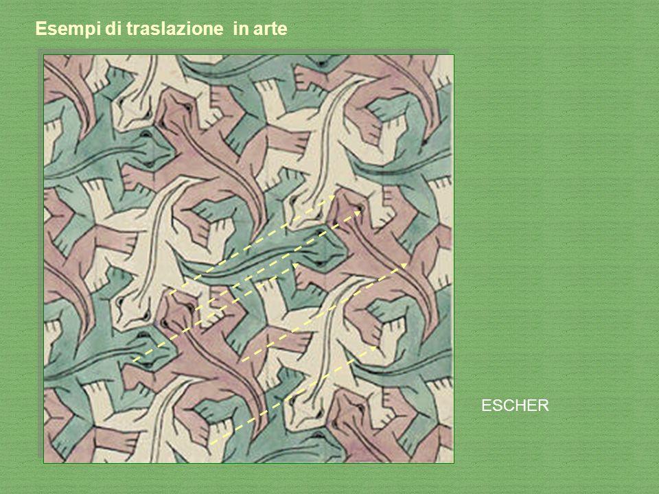 Esempi di traslazione in arte ESCHER