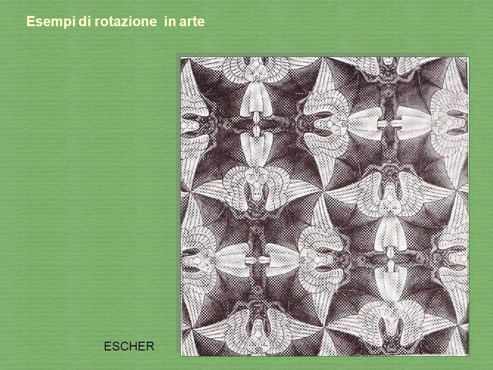 Esempi di rotazione in arte ESCHER