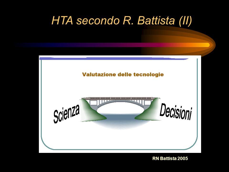 RN Battista 2005 HTA secondo R. Battista (II)