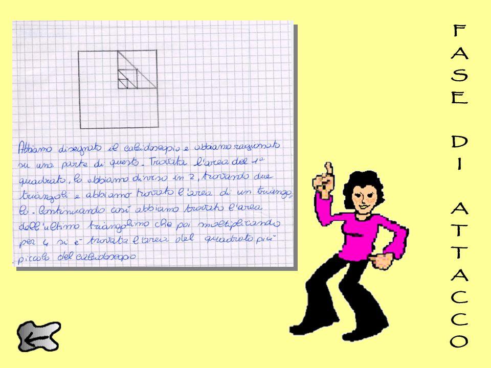 E se considerassimo un quarto della figura e ragionassimo solo sui quadrati e sui triangoli rettangoli?