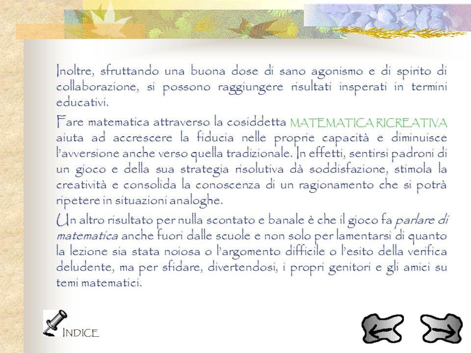 LA SOLUZIONE CORRETTA E STATA DATA DALLA META DEI RAGAZZI.
