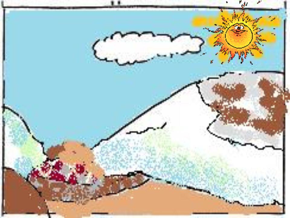 …sia per sfuggire al clima poco salutare delle pianure paludose.