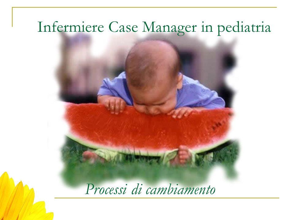Infermiere Case Manager in pediatria Processi di cambiamento