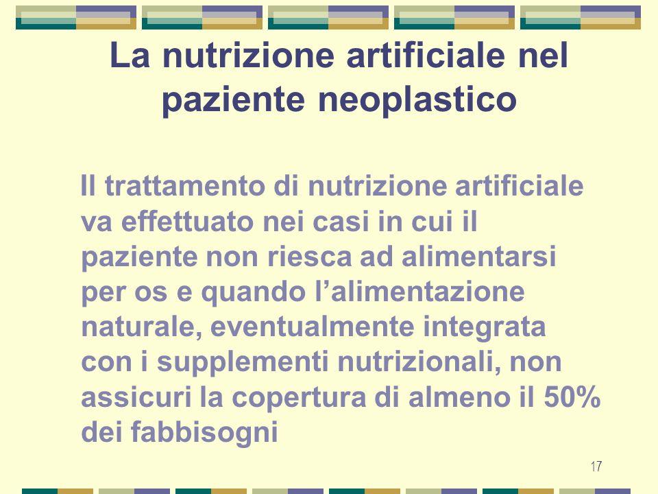 18 Nutrizione Enterale o Parenterale.