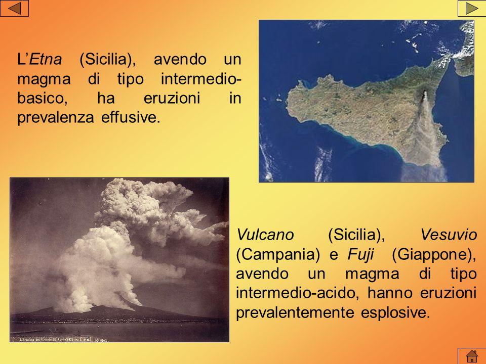 Tipi di vulcano in base alla forma In base alla forma del cono i vulcani si suddividono in vulcani a scudo; vulcani a cono.